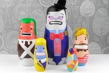 Matryoshkas dolls for collection / by Jessica Hynds Marsh