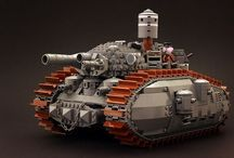 Lego heroes / Stuff that I'd love to make with Lego, if I could get away with it.  / by Drew Burdon