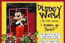 disney scrapbooking / I love Disneyworld! I also love scrapbooking. / by Susan Lawless