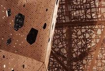 ARCHITECTURE details / Grand plan sur la créativité architecturale contemporaine / by mdboi