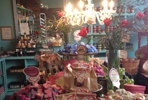 To Market to Market / Displays in our Mar Vista, California Soap Shop and Kitchen & displays in stores and markets that carry our soaps. / by Soaptopia