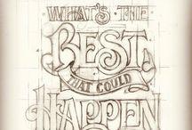 Typography & Hand Lettering / by Meg (Hawley) Schatz
