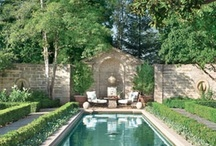 Outdoor Spaces and Rooms / by Betty Addington
