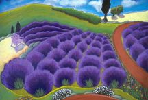 Lavender / I hope to get to see lavender fields in Provence, one day. / by Lisa Cancade Hackett
