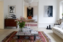 Living room / by Sofia - kreativ inredning