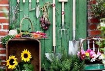 Balcony and garden / by Sofia - kreativ inredning