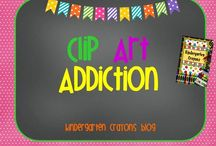 Clip Art Addiction / by Kindergarten Crayons