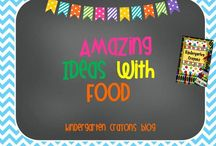 Amazing Ideas With Food / by Kindergarten Crayons