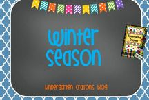 Winter Season / These are some of my favorite ideas related to winter.  / by Kindergarten Crayons
