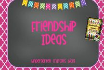 Friendship Ideas / by Kindergarten Crayons