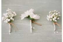 Boutonnieres / by White Sand Weddings