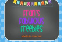 Fran's Fabulous Freebies / by Kindergarten Crayons