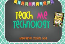 Teach Me Technology / I am trying to stay ahead of the curve but I am having a hard time. / by Kindergarten Crayons