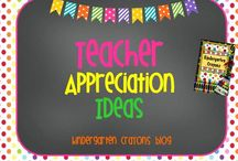 Teacher Appreciation Ideas / by Kindergarten Crayons