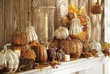 Fall and Thanksgiving Decorating Ideas / by Lm Jones