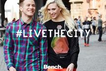 #LIVETHECITY / Bench proudly unveils the Autumn Winter #LIVETHECITY campaign for 2013. Celebrating the energy and community spirit of the world over, the campaign is a call out to the insatiable desire in all of us to journey and see new things; to uncover the unseen, to find new sights hidden within city streets, and to share experiences with friends and strangers alike.   http://benchlivethecity.com / by Bench