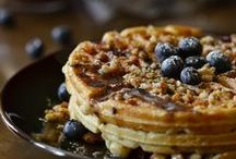 Breakfast - Waffles, Pancakes, French Toast / by Ashley Purdue