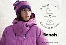 Bench. Sport AW13 / As the mercury drops and the days get shorter, thoughts turn to the mountains in all their active glory. Bench is proud to announce the launch of a new video that celebrates what was born in the city, built for the mountains: The Winter 2013 4Spot Collection.   Bench. Sport is available at bench.de and bench.ca. / by Bench