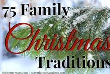 Christmas - Traditions / #Christmas #Holiday #Traditions / by Evelyn Kelley