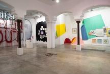 """Hecho en Madrid / """"Hecho en Madrid"""" Artistas: Nuria Mora, Suso33, Nano 4814 y Neko Exposición pasada en Delimbo Gallery / by DELIMBO"""