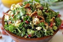 Scrumptious Salads / Salads of all kinds! / by Amanda Livesay