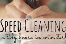 Cleaning & Organizing / Cleaning tips & awesome ways to organize stuff. / by Becky {Babes in Hairland}