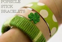 HOLIDAY: St. Patrick's Day Crafts / Filled with Shamrocks, Rainbows and Pots of Gold! You and your little leprechaun will have loads of fun making these fun St. Patty's Day crafts! / by Shellie Deringer (Saving With Shellie)