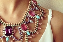 bijouterie. / bijouterie (n): a collection of trinkets or ornaments.              / by la pretty.