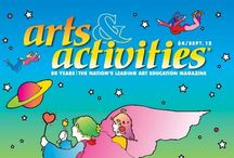 2012 Magazine Covers / by Arts & Activities Magazine