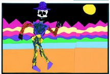 Dia de los Muertos / Halloween / Lesson plans to help you celebrate the holidays with your students! / by Arts & Activities Magazine