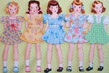 paper dolls 2 / by Manu Simon