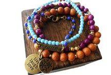 Stretch Bracelet Sets / by Mary Grace Jewellery