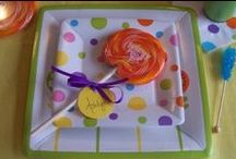 polka dot / candy theme / by Kristin Smith