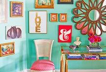 O2 Decor / You know Origami Owl is all about bright colors, whimsical patterns and bold pieces! Here is a look at how an O2 inspired house would be decorated. #origamiowl # / by Origami Owl