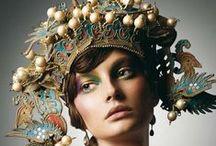 • head gear • / • hats + fascinators + masks • / by carlita christian