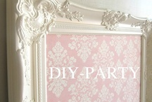 """""""DIY- PARTY"""" / PLEASE SHARE ALL YOUR DO IT YOURSELF PROJECTS WITH US !  PLEASE PIN ONLY PIN #7 PINS IN A ROW. BUT THERE IS *NO 24 HOUR LIMIT ON YOUR PINS ! THIS IS A HIGH QUALITY, SAFE, FAMILY ORIENTED, """"G"""" RATED BOARD. IF YOU ARE A #BLOGGER,  FEEL FREE TO ADD OTHER BLOGGERS YOU #TRUST. PLEASE RESPECT OUR COMMUNITY &  MANY BLOGGERS BY FOLLOWING OUR IMAGE GUIDELINES. NO NAIL ART, #ETSY, #SEARCH, OR #TUMBLR or**INFOGRAPHIC** length pins !THANK YOU EACH, FOR BEING HERE WITH US ! SO PLEASE PIN & ENJOY !  / by KathyElizabeth ,"""