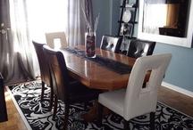 dining room ideas / by Tammy Ristau