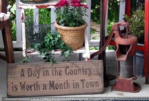Country Vintage Signs / by Malissa Purvis