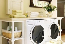 { home: laundry room } / by Kim Flesch