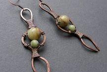 DIY Earrings/Ear Cuffs / diy / by Gail Franklin