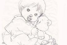 Coloriages / dessins à colorier pour ma princesse / by Delphine Carroy