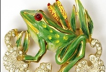 Jewelry frog, snail, etc. / Amphibians, Crustaceans, & Reptiles / by Rachel Gray