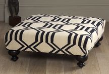DIY + Ottoman / by Whitney Anderson