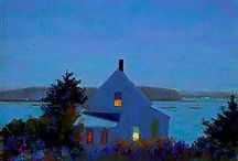 Blues / all kinds of blues, the color, the emotion, the ocean, blue one of the greatest colors / by Jane Donnelly