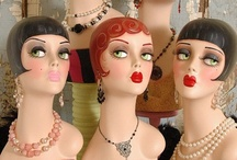 Mannequins  / by Candy Waldman Crawford