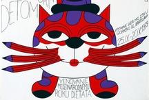 Cat Art / by Candy Waldman Crawford