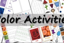 Color Activities for Kids / by Cassie Osborne (3Dinosaurs.com)