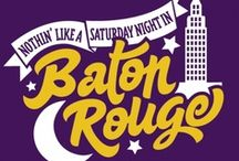 geaux tigers & who dat / by Therese Bourgeois