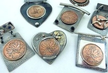 ♥♥JEWELLERY  PENNIES & COINS♥♥ / by Patricia St. T. Lees