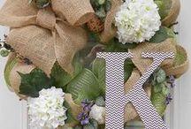 Wreaths / by Heather Goober